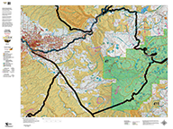 Colorado Hybrid Maps - Land Ownership OR Satellite with Concentrations