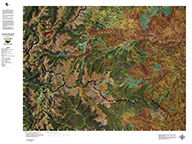 Colorado Satellite Unit Maps with Land Ownership